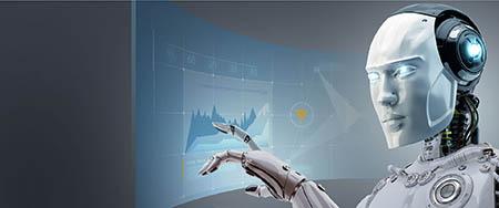 illustration d'un robot de trading