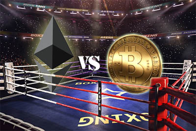 bitcoin contre ethereum
