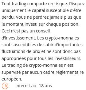 Risques liés au trading