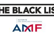 Liste noire AMF forex et option binaire 2018