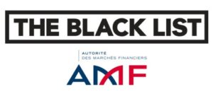 liste noire de l'AMF